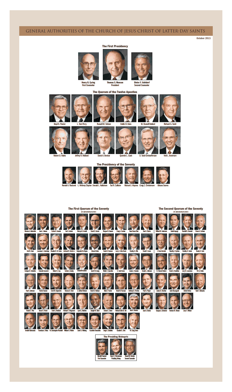 2013 lds leadership