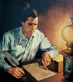 Joseph Smith Translating - Kilbourn 2
