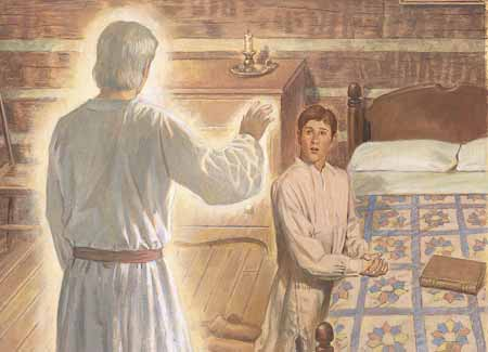 Moroni in bedroom