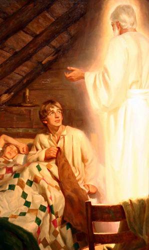 Moroni's Visitation to Joseph Smith