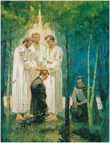 Mormon Priesthood Restoration