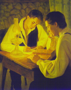 Joseph Smith and Oliver Cowdery